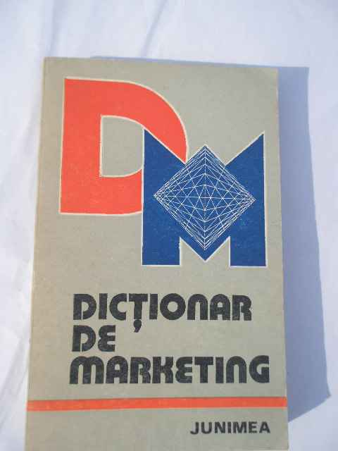 dictionar de marketing                                                                               necunoscut