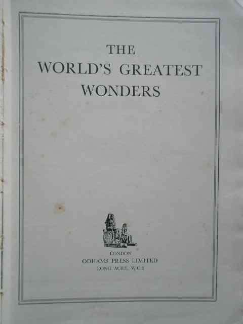 the world's greatest wonders                                                                         necunoscut