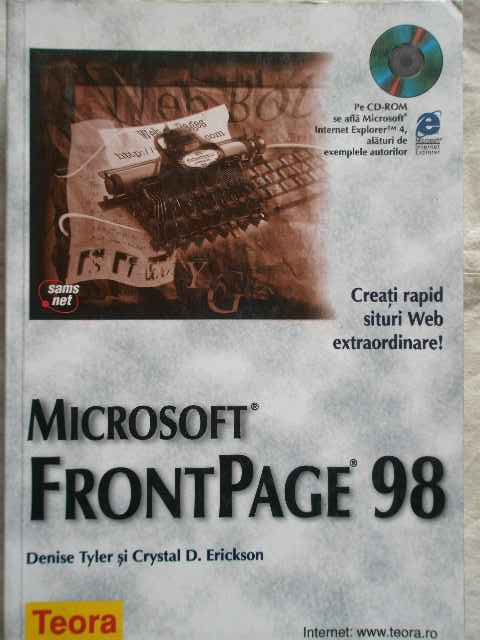 MICROSOFT FRONTPAGE 98                                                                    ...