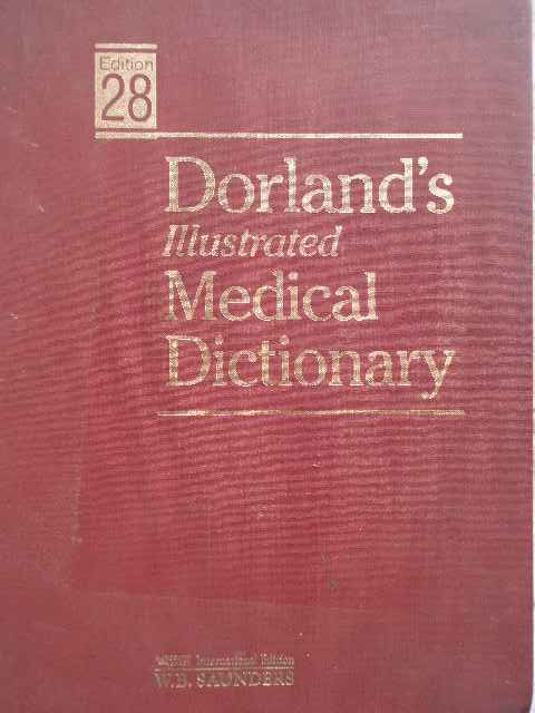 dorland's illustrated medical dictionary necunoscut