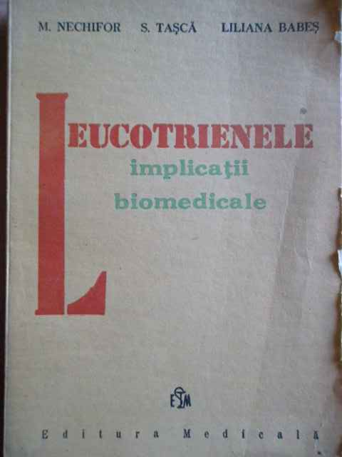 LEUCOTRIENELE IMPLICATII BIOMEDICALE                                                      ...