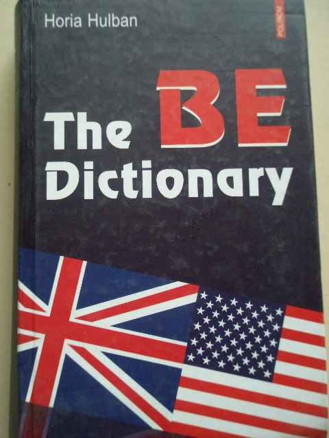 THE BE DICTIONARY                                                                         ...