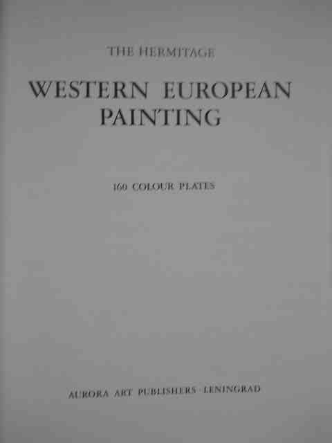 the hermitage western european painting                                                              colectiv