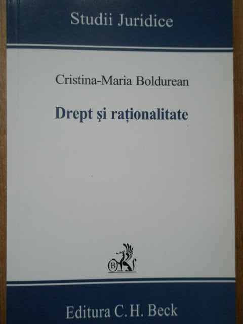 drept si rationalitate                                                                               cristina-maria boldurean