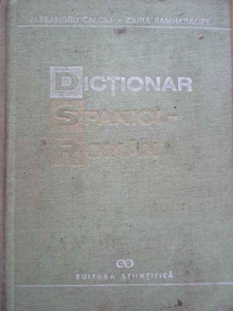 DICTIONAR SPANIOL-ROMAN                                                                   ...
