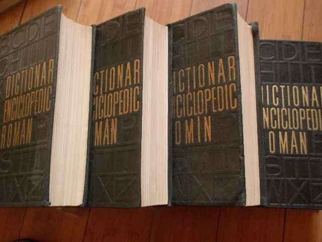 DICTIOMAR ENCICLOPEDIC ROMAN VOL.1-4                                                      ...