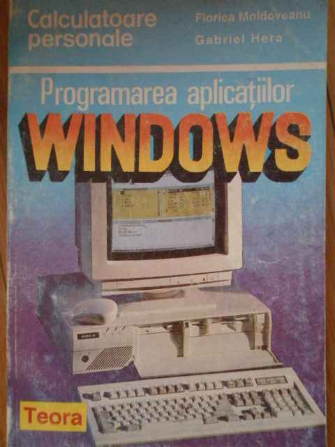 PROGRAMAREA APLICATIILOR WINSOWS 33                                                       ...