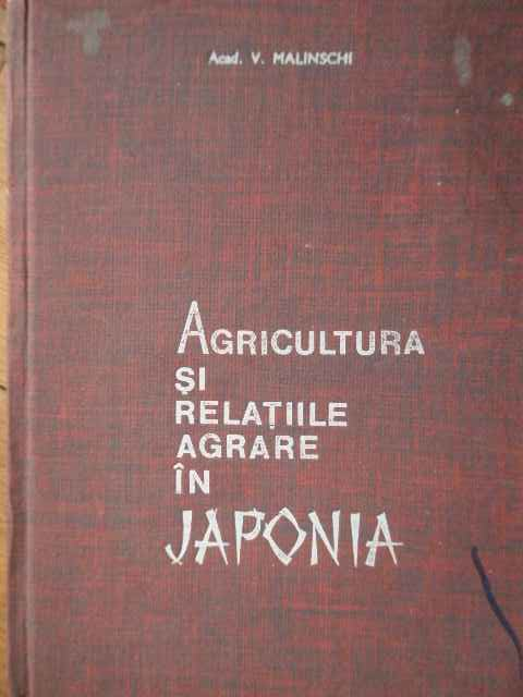 AGRICULTURA SI RELATIILE AGRARE IN JAPONIA                                                ...