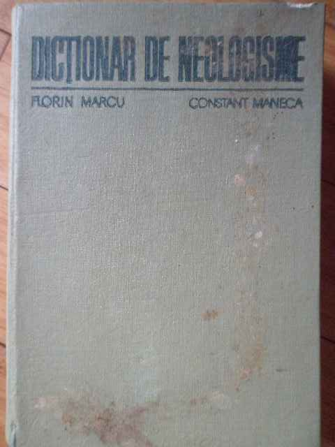 DICTIONAR DE NEOLOGISME                                                                   ...