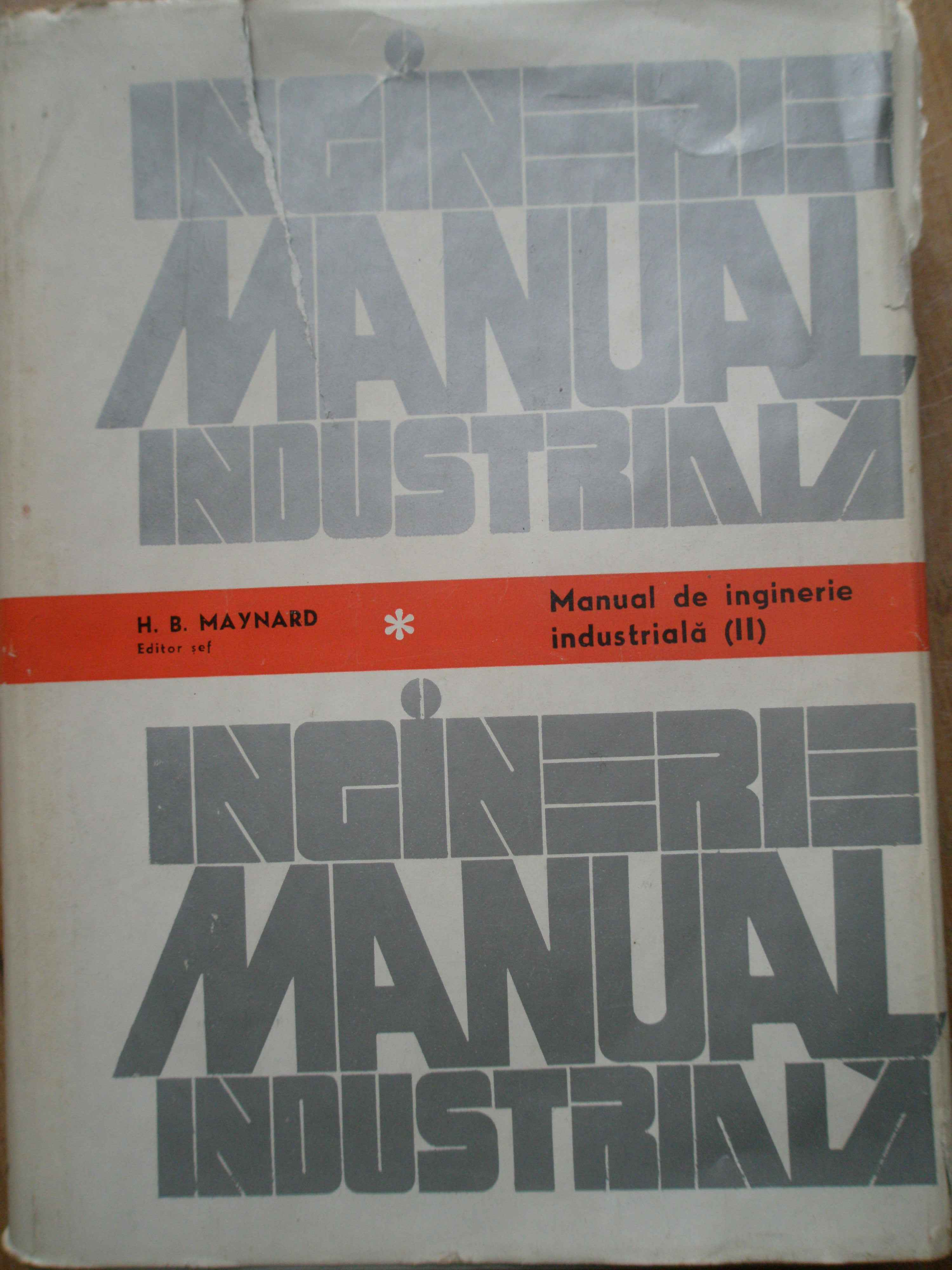 manual de inginerie industriala                                                                      colectiv