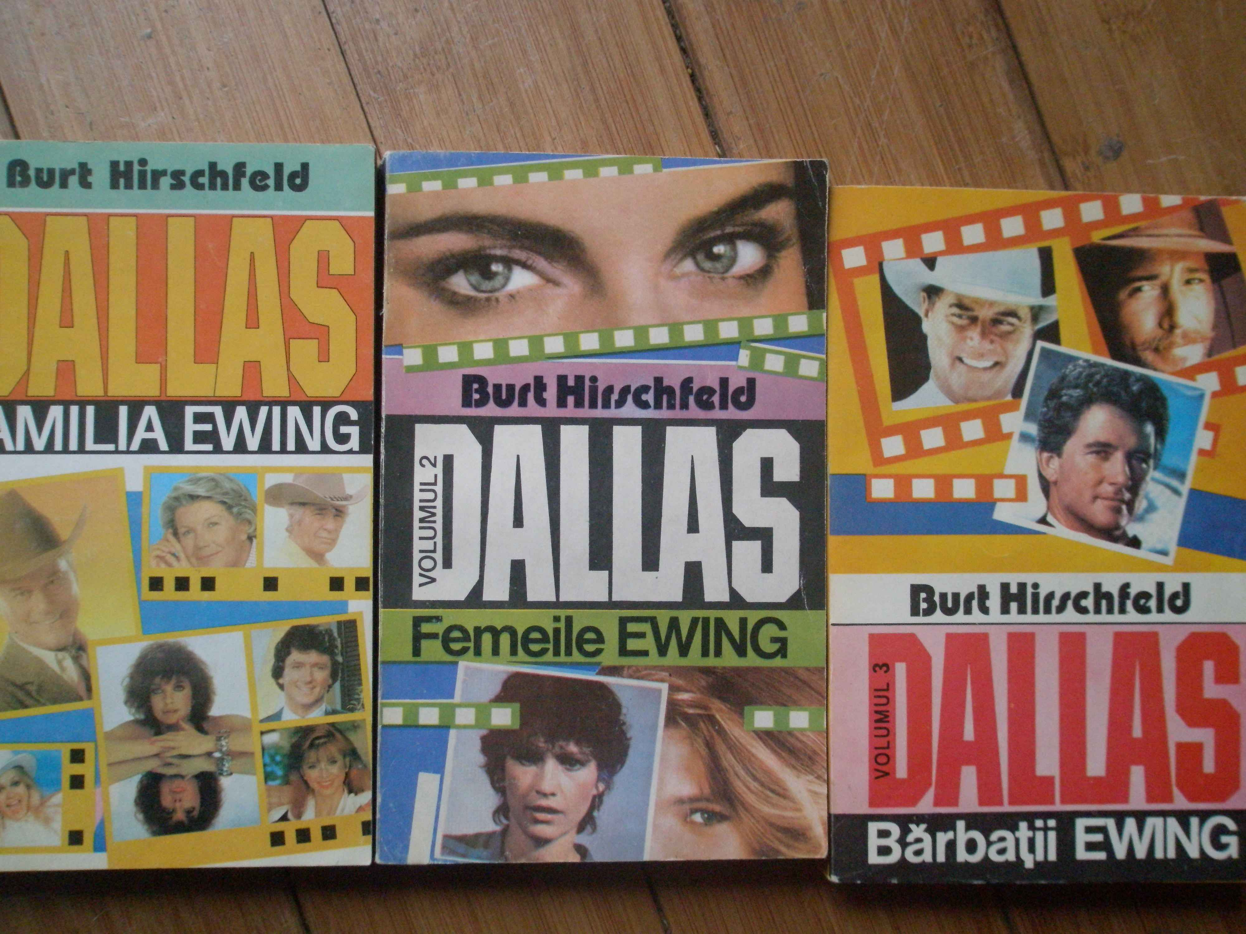 DALLAS FAMILIA EWING VOL.1-3                                                              ...