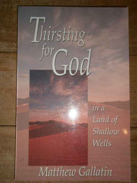 THIRSTING FOR GOD                                                                         ...