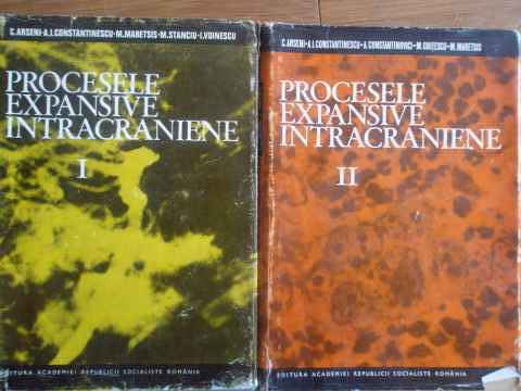 PROCESELE EXPANSIVE INTRACRANIENE VOL.1-2                                                 ...