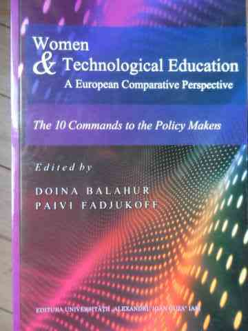 WOMEN & TECHNOLOGICAL EDUCATION A EUROPEAN COMPARATIVE PERSPECTIVE                        ...