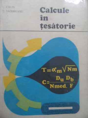 calcule in tesatorie                                                                                 i. calin e. iacobeanu