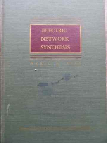 ELECTRIC NETWORK SYNTHESIS                                                                ...