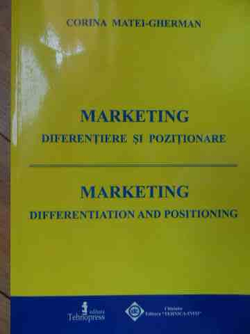MARKETING DIFERENTIERE SI POZITIONARE                                                     ...
