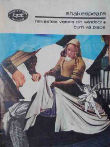 nevestele vesele din windsor cum va place 1166                                                       shakespeare