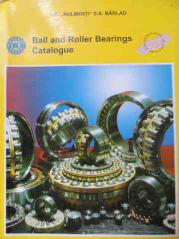 ball and roller bearings catalogue                                                                   necunoscut