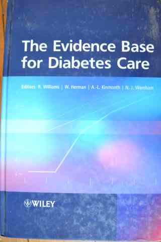 the evidence base for diabetes care                                                                  colectiv