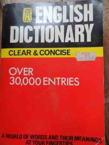 ENGLISH DICTIONARY                                                                        ...