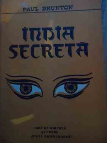 india secreta                                                                                        paul brunton
