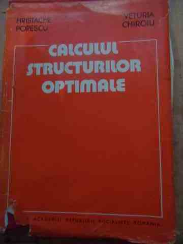 CALCULUL STRUCTURILOR OPTIMALE                                                            ...