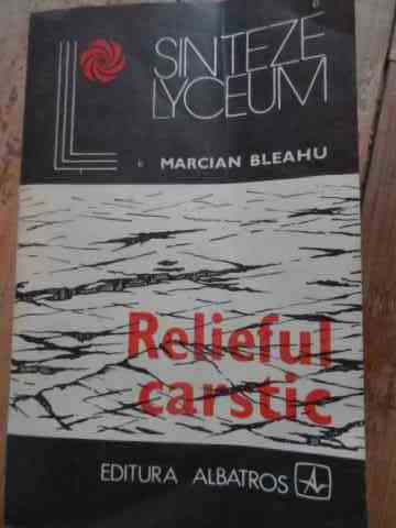 relieful carstic                                                                                     marcian bleahu