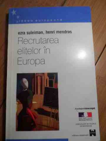 RECRUTAREA ELITELOR IN EUROPA                                                             ...