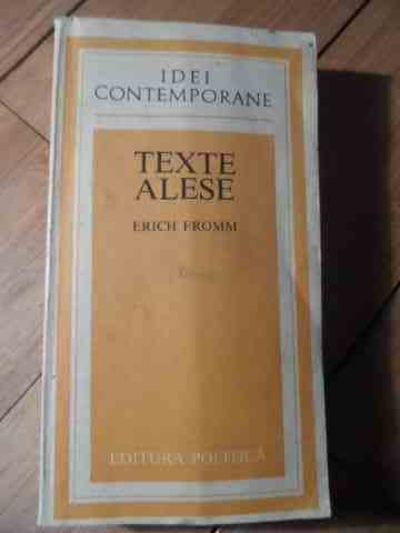 texte alese                                                                                          erich fromm