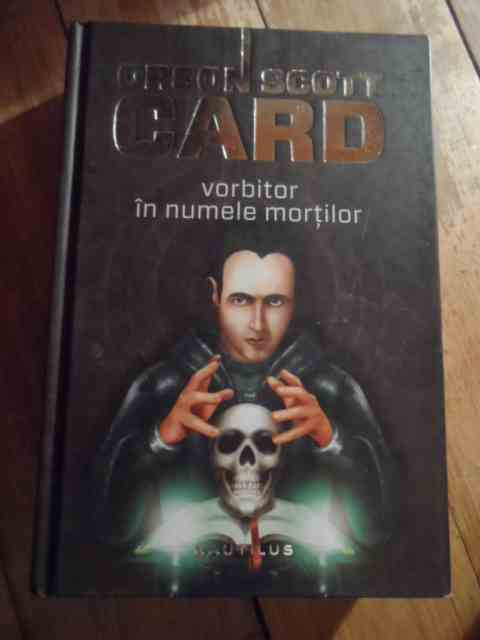 vorbitor in numele mortilor                                                                          orson scott card