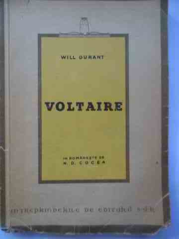 voltaire                                                                                             will durant
