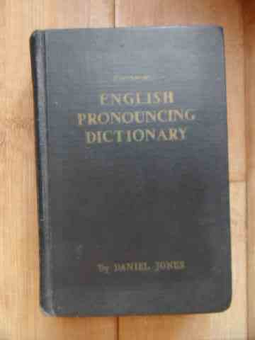 ENGLISH PRONOUNCING DICTIONARY                                                            ...