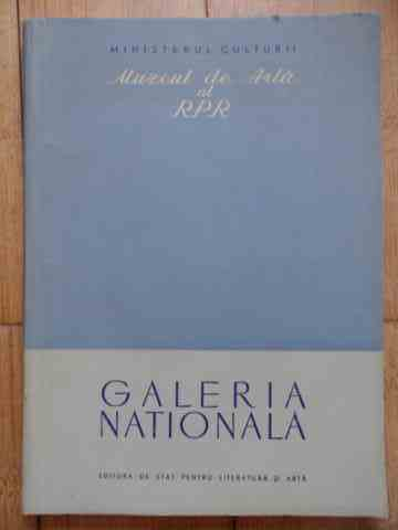 GALERIA NATIONALA                                                                                    COLECTIV