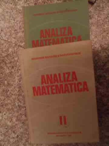 ANALIZA MATEMATICA VOL.1-2                                                                ...