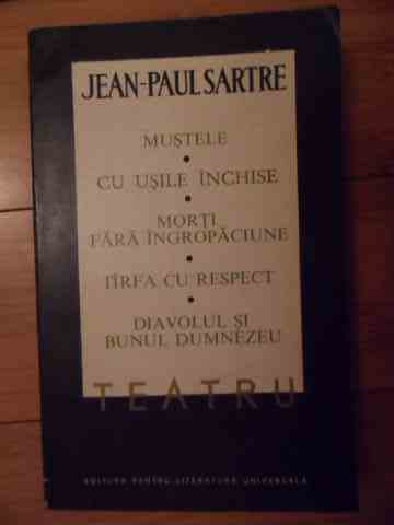teatru vol. 1-2                                                                                      jean-paul sartre