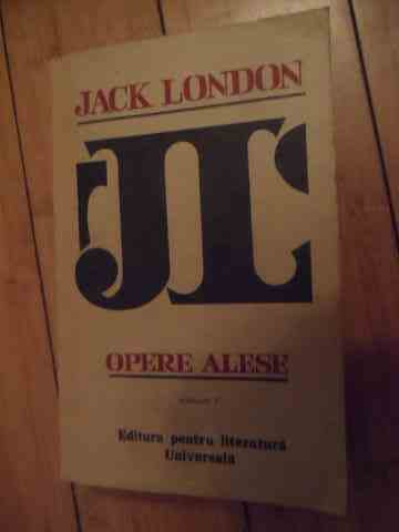 opere alese vol.1-3                                                                                  jack london