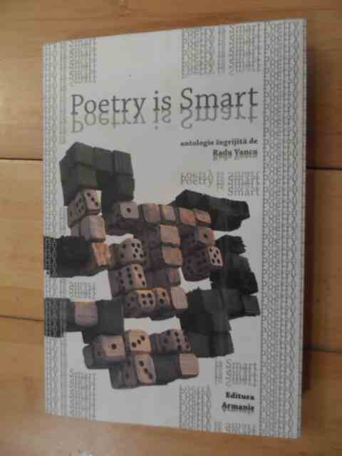 poetry is smart                                                                                      radu vancu