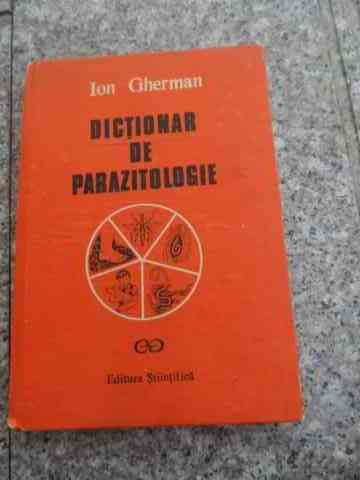 dictionar de parazitologie                                                                           ion gherman