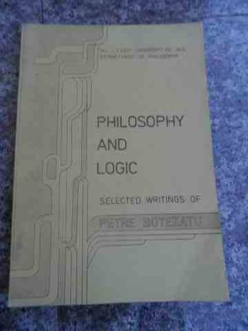 PHILOSOPHI AND LOGIC                                                                      ...