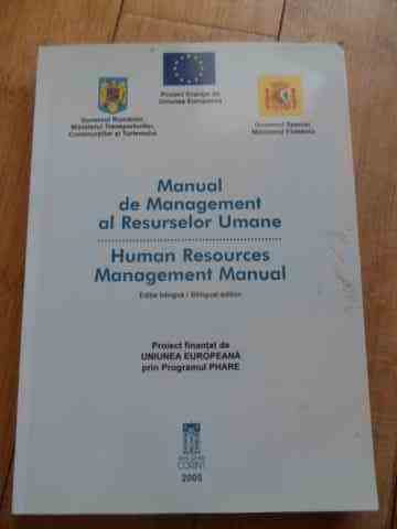 manual management al resurselor umane                                                                colectiv