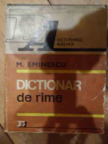 DICTIONAR DE RIME                                                                         ...
