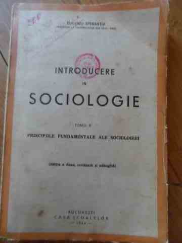 introducere in sociologie                                                                            eugeniu sperantia