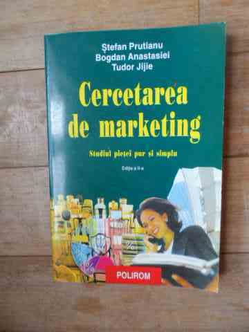 CERCETAREA DE MARKETING                                                                              COLECTIV