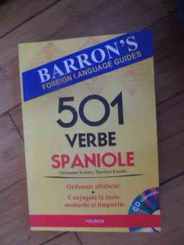 501 verbe spaniole+cd                                                                                christopher kendris theodore kendris