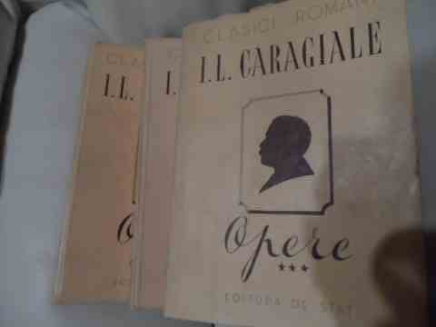 opere 1-3                                                                                            i.l. caragiale