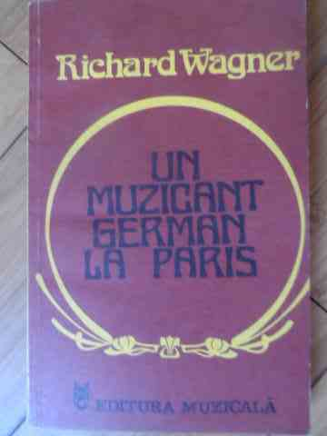 un muzician german la paris                                                                          richard wagner