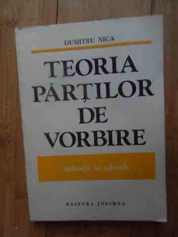TEORIA PARTILOR DE VORBIRE APLICATII LA ADVERB                                            ...