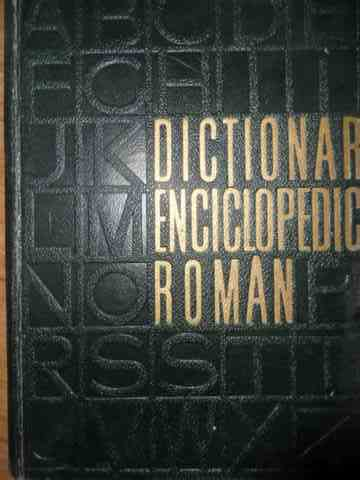 DICTIONAR ENCICLOPEDIC ROMAN VOL.3 K-P                                                    ...