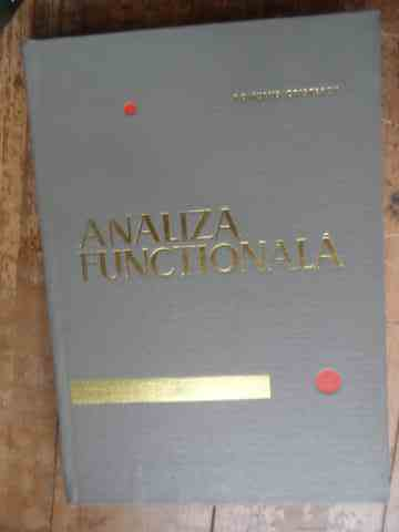 analiza functionala                                                                                  romulus cristescu